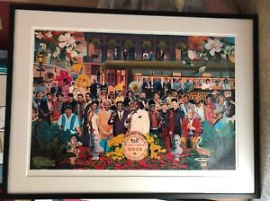 2019 New Orleans Jazz Fest JazzFest Poster   Signed by the Artist Scott Guion