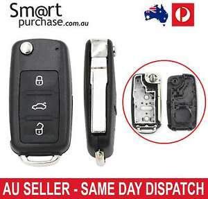 Remote Control 3 Button Volkswagen Beetle Golf MK6 Car Key Replacement Shell v