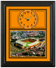 More details for football clock wolverhampton wanderers wolves aerial