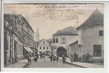 MÄHREN , BEZIRK FREUDENTAL , JÄGERNDORF , SCHLOßPLATZ , KRNOV , 1904