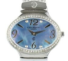 CHARRIOL Darling Ref.Oval Stainless Steel Quartz Battery Replaced Ladies Watch