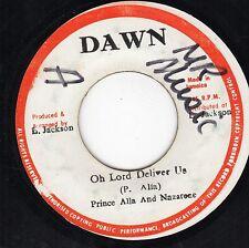 """ OH LORD DELIVER US. "" prince alla & the nazarine. DAWN 7in 1979."