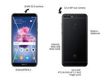 Huawei P Smart 5.65 pulgadas 32GB 13MP Teléfono Móvil Android 4G-Desbloqueado - 3GB Ram