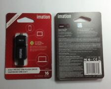 Imation 2-In-1Micro USB Flash Drive 16GB (29613) Android 4.1+ Jelly Bean Devices