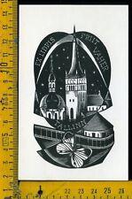 Ex Libris Originale Alexandro Radulescu c 100