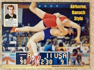 Ed Banach Wrestling Olympic Freestyle World Champ Univ of Iowa Hawkeye Wrestler