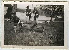 PHOTO ANCIENNE - SCOUT SCOUTISME JEU - BOY PLAYING FUNNY - Vintage Snapshot