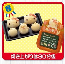 "Re-Ment KAWAII ""Hello Kitty Bakery #8-Sweet Buns; 1:6 Barbie kitchen food minis"