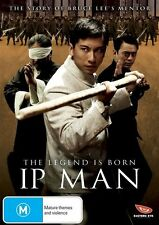 Ip Man: The Legend is Born - master of the art of Wing Chun NEW R4 DVD
