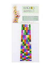 """Teach Yourself Guitar!""""Wicked Notes"""" fret stickers"""