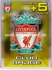 Adrenalyn XL Liverpool FC 11/12 - #122 Club Badge - Power Up