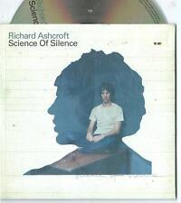 RICHARD ASHCROFT - Science of Silence - 1 track promo cardsleeve THE VERVE