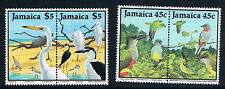 JamaicaSC680a&682a Pairs-Both have continuous designs-Vireo&CommonStilt MNH 1988