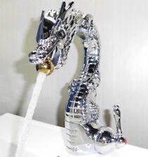 Chrome dragon mixer faucet single hole Handle bathroom lavatory vessel sink tap