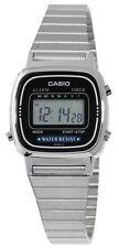 Casio LA670WA-1 Women's Metal Band Vintage Silver Tone Digital Watch