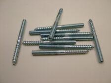 10x Wood to metal dowels furniture fixing dowel screws M6x69mm-banjo repair size