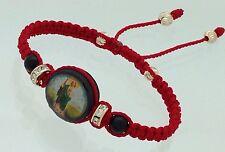 Pulsera Roja Para Los Casos Mas Dificiles Con Medalla De San Judas