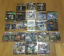 🔰SEALED🔰 Lego Star Wars Minifigure Polybags Collection from 2007 🔰RARE🔰