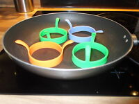 fried egg rings silicone silicon poacher pancake perfect egg ring