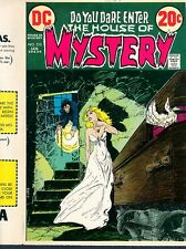 House of Mystery 210 COVER PROOF ART Mike Kaluta 1972 Vampire Negligee DC HORROR