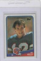 1988 Topps Jim Kelly Buffalo Bills #221 Original Modern HOF
