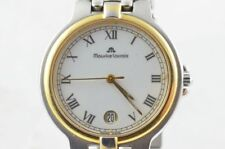 Maurice Lacroix Men's Watch Steel/Gold 1 11/32in 69637 with Steel Band 1 13/32in