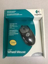 New Sealed - Logitech Wheel Mouse Optical Usb or Ps2 P/N: 930808-0403