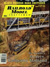 Railroad Model Craftsman Magazine May 1991 Alco's Pioneer Road Switcher