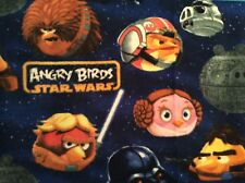 """Star wars Angry birds fleece fabric, 60"""" wide, sold by the yard."""