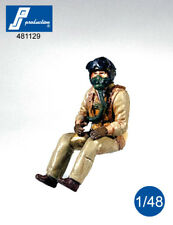 1/48 PJ PRODUCTION US NAVY PILOT SEATED IN A/C (50s)