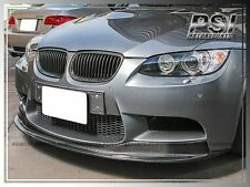 2008-2013 BMW E92 E93 M3 AK Style Carbon Fiber Front Bumper Add On Lip