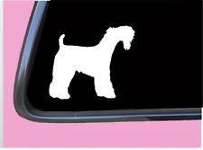 "Kerry Blue Terrier Tp 553 vinyl 6"" Decal Sticker dog breed"