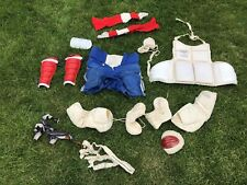 Vintage Lacrosse Equipment Protectors Pads Socks ect.