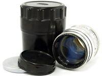 👍JUPITER-3 1.5/50 Silver ☭Soviet Sonnar Copy Lens M39 Fed Zorki Leica LTM BokeH