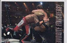 """2010 TOPPS WWE EDGE """"FAVORITE FINISHER"""" INSERT WRESTLING CARD #FF3"""