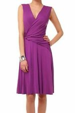 BNWT Phase Eight India Drape Wrap Jersey Dress Petunia Size 16