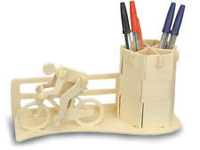 Racing Bike Pen Holder Woodcraft Construction Kit - 3D Bicycle Model KIDS/ADULTS