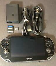 Sony PS VITA WiFi + 3G W/ 32GB Memory Card + COD Black Ops Declassfied USED