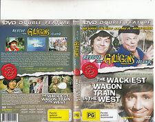 Rescue From Gilligan's Island-1978/The Wackiest Wagon Train-Bob Denver-Movie-DVD