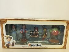 disney store sketchbook ornament set the art of pinocchio collection new w box