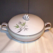 Narumi SOUTHWIND Covered Vegetable Bowl White Porcelain China made in Japan
