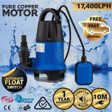 CENTAURUS Submersible Dirty Water Sump Pump 1100W - Grey Water Sewage Sullage