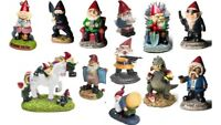 New Novelty Naughty Garden Gnomes Outdoor Decoration Statues Ornaments Funny