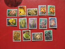 Papua New Guinea:  1982 Coral Definitive Set MNH