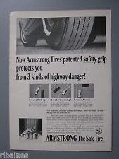 R&L Ex-Mag Advert: Armstong Tires/Peugeot Car