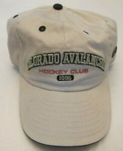 Colorado Avalanche New Era Tan Hat One Size Fits All Officially Licensed NHL