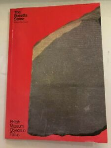 The Rosetta Stone Richard Parkinson British Museum (PLEASE READ DESCRIPTION)