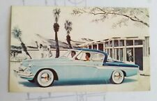 1955 STUDEBAKER COMMANDER V-8 Starliner Regal - Original Issue Postcard