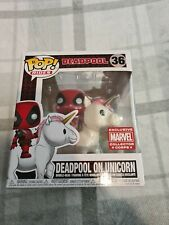 Funko Pop Vinyl Rides - Marvel #36 Deadpool on Unicorn New - MCC Exclusive