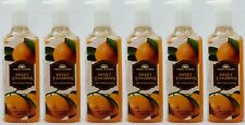 6 Bath & Body Works SWEET TANGERINES Deep Cleansing Hand Wash Soap